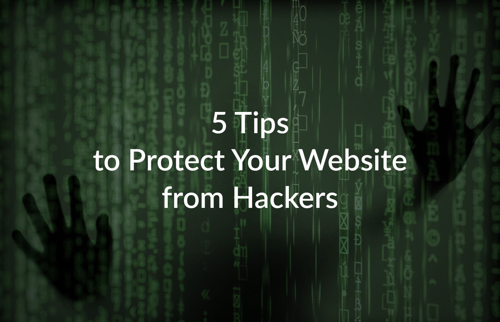 5 Tips to Protect Your Website from Hackers