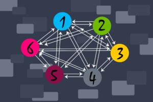 Interlinked diagrams to highlight SEO benefits of backlinks