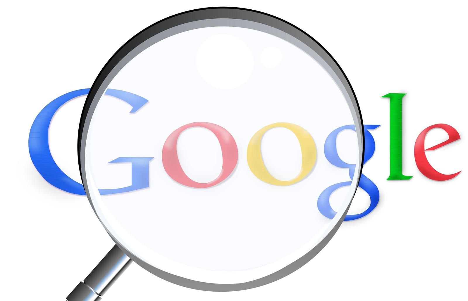 Google logo, using backlinks to improve SEO
