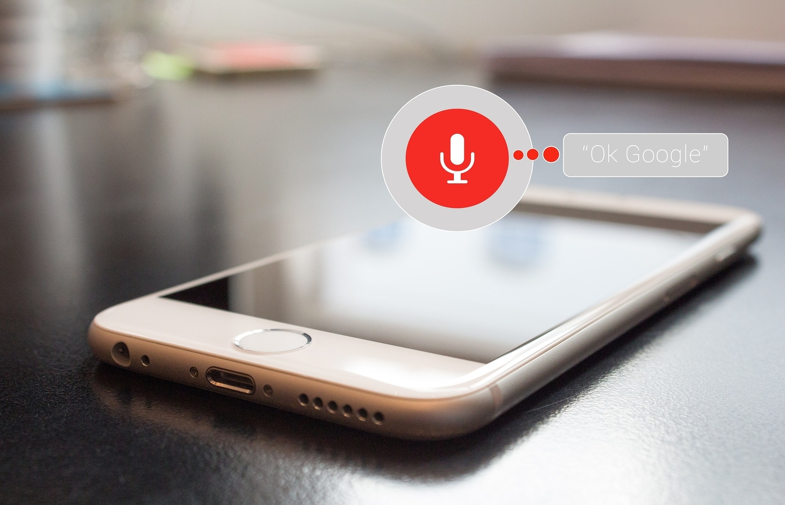 Voice control for voice-activated searches